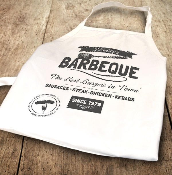 Best Burgers in Town Personalised Apron