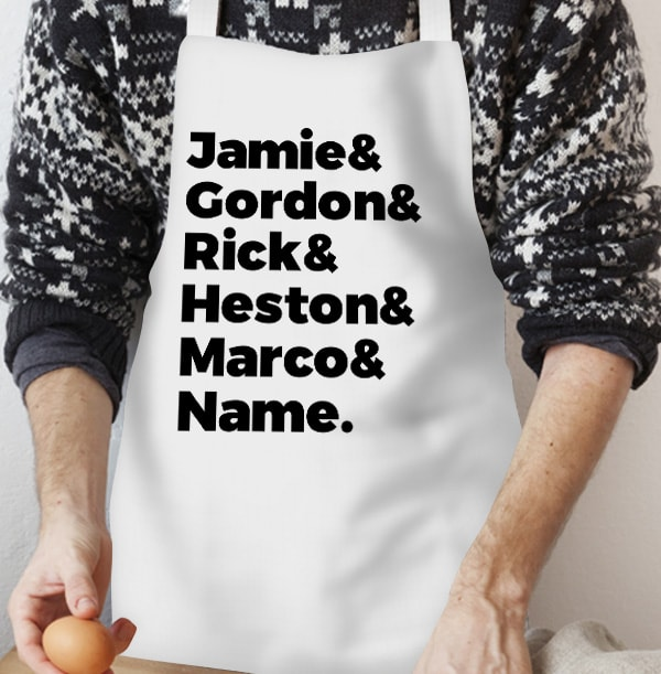 Top Chefs Personalised Apron