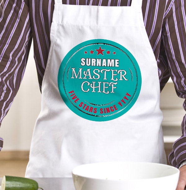 Master Chef Personalised Apron