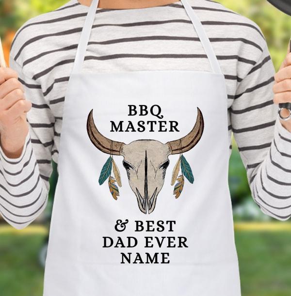 Dad - BBQ Master Personalised Apron