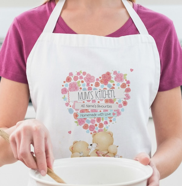 Mum's Kitchen Forever Friends Personalised Apron