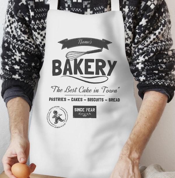 Best Bakery in Town Personalised Apron