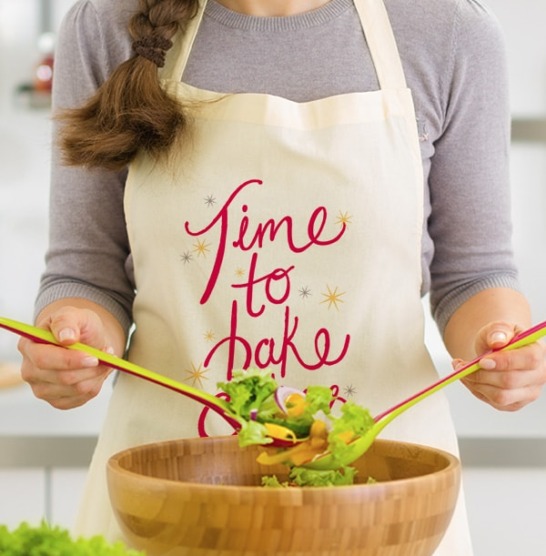 Time To Bake Personalised Apron
