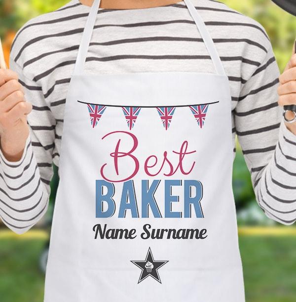 Best Baker Personalised Apron