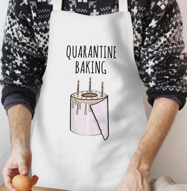 Quarantine Baking Personalised Apron