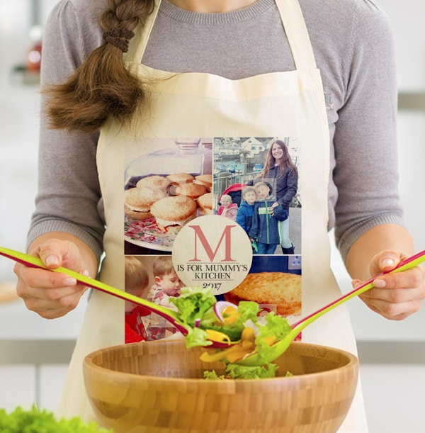M is for Mummy Photo Collage Apron