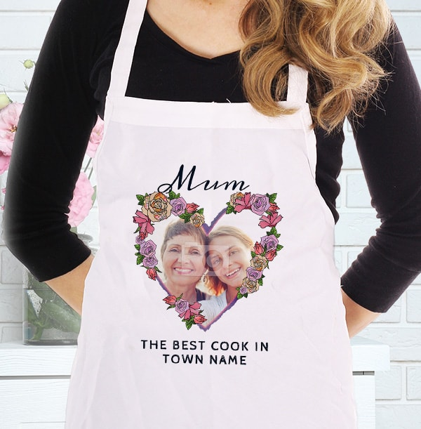 Best Cook in Town Personalised Photo Apron