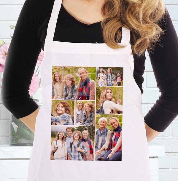 7 Photo Collage Mum Apron