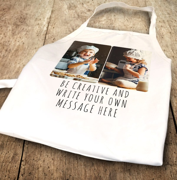 Your Own Message & Photo Apron