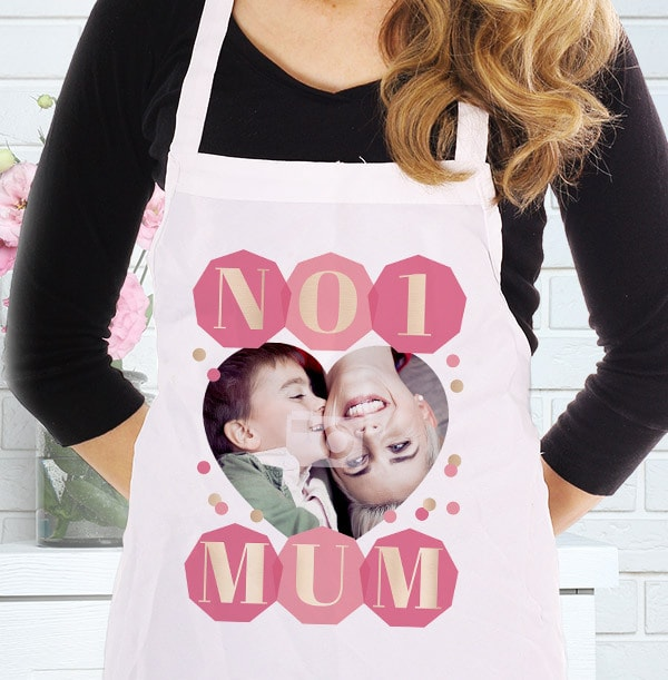 No.1 Mum Photo Apron
