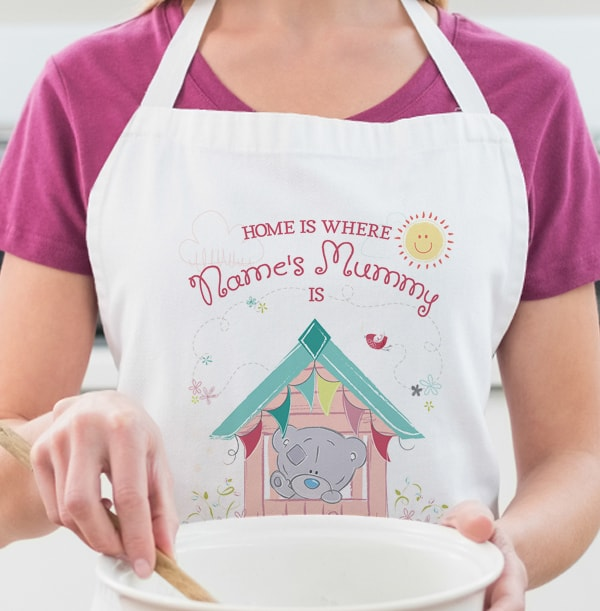 Home is Where My Mummy is  Personalised Apron - Me to You