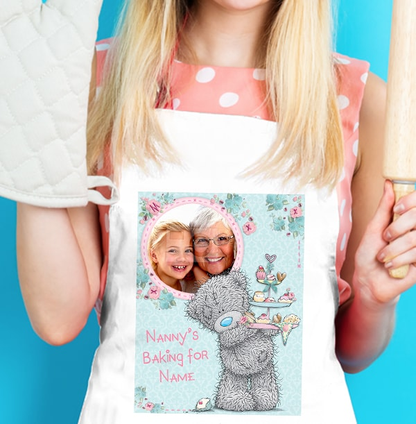 Nanny is Baking Personalised Apron - Me to You