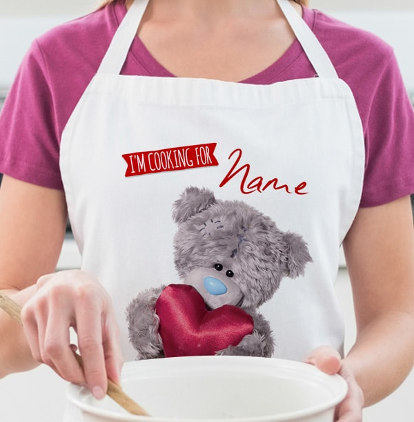 Me To You Personalised Apron - I'm Cooking For You