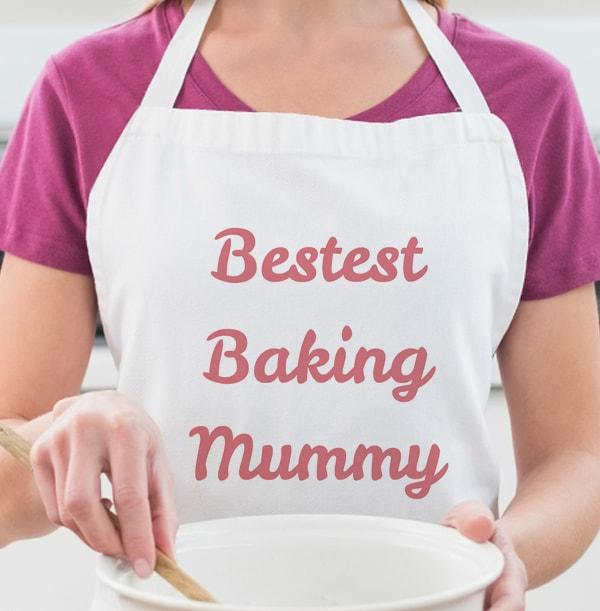 Baking Mummy Personalised Apron