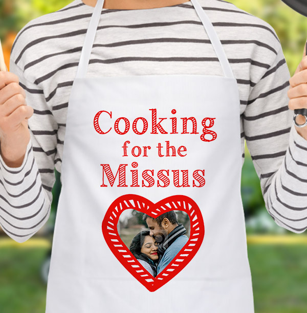 Cooking for the Missus Personalised Apron
