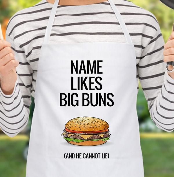 Big Buns Personalised Apron