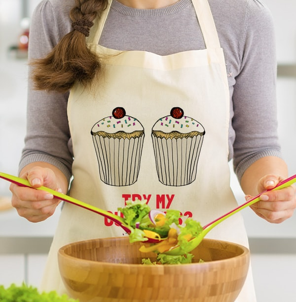 Try My Cupcakes Personalised Apron