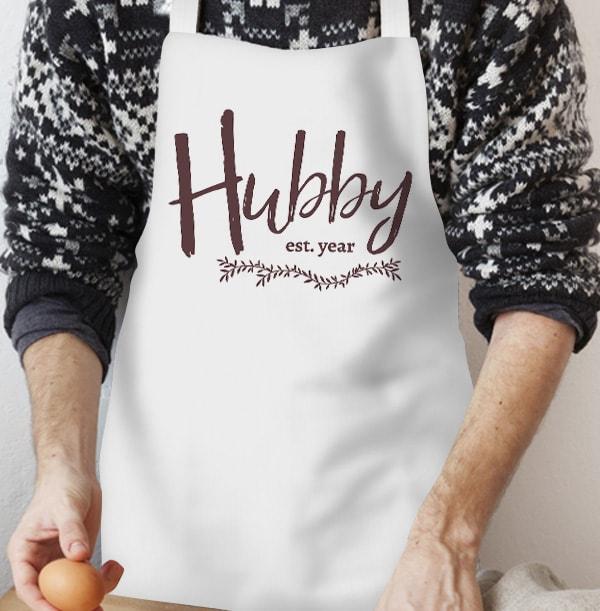 Established Hubby Personalised Apron