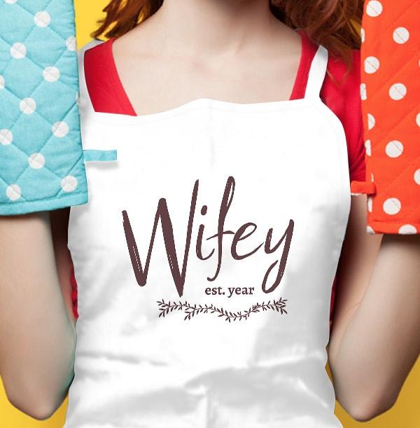 Established Wifey Personalised Apron