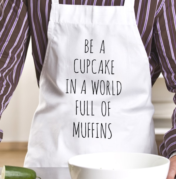 Cupcake in A World of Muffins Personalised Apron