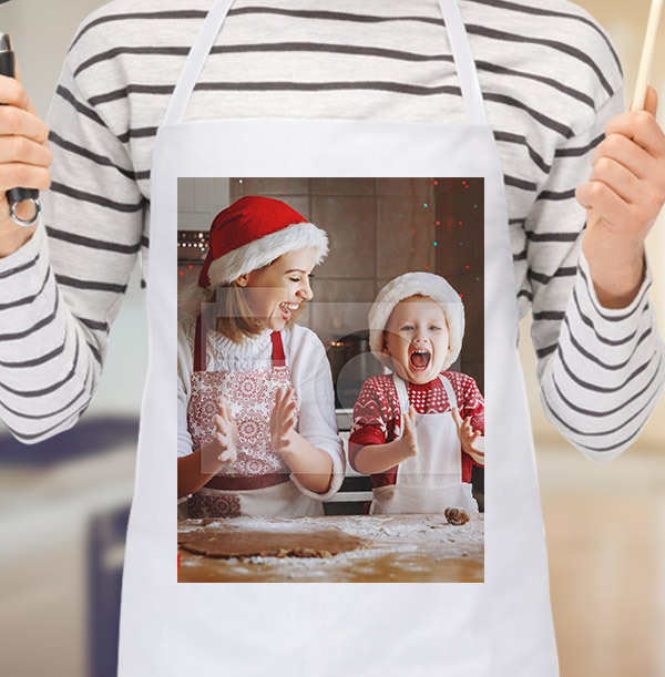 Christmas Full Photo Upload Apron