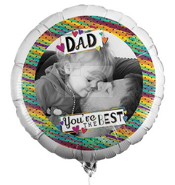 Dad You're The Best Photo Balloon