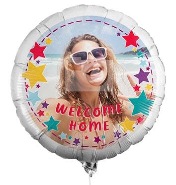 Welcome Home Photo Balloon