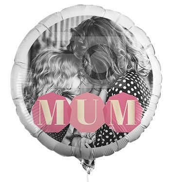 MUM Full Photo Balloon
