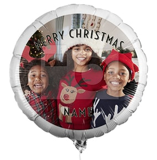 Personalised Christmas Photo Balloon