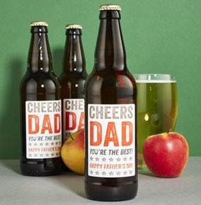 Cheers Dad Cider Collection - Best of British Beer
