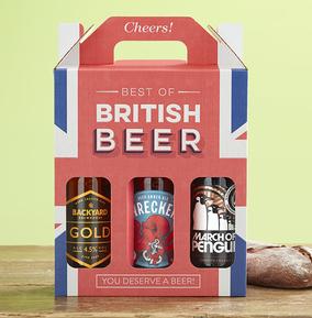 Best of British Beer Gift Box - Union Jack