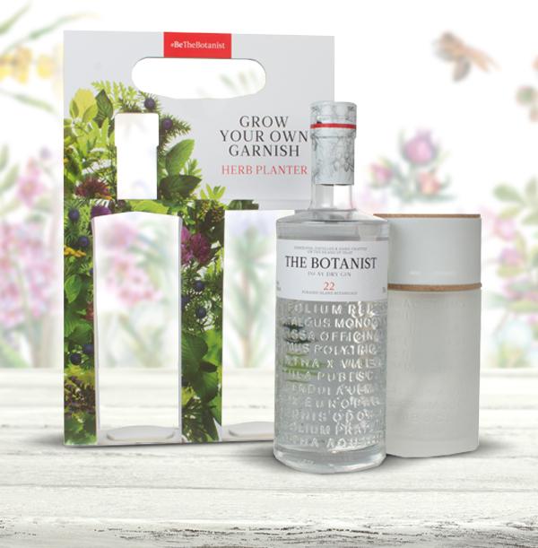 The Botanist Gin Herb Planter Gift Pack