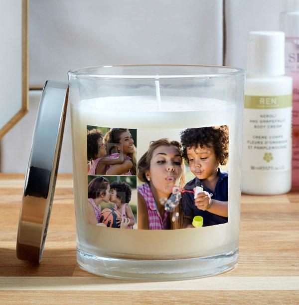3 Photo Upload Candle