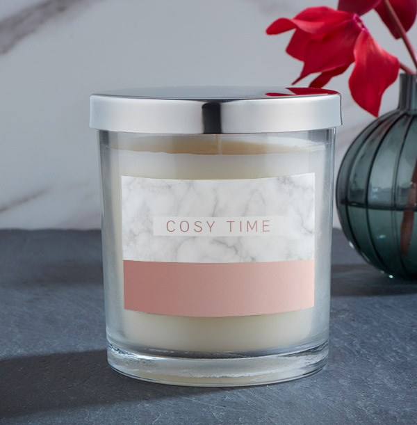 Cosy Time Personalised Candle