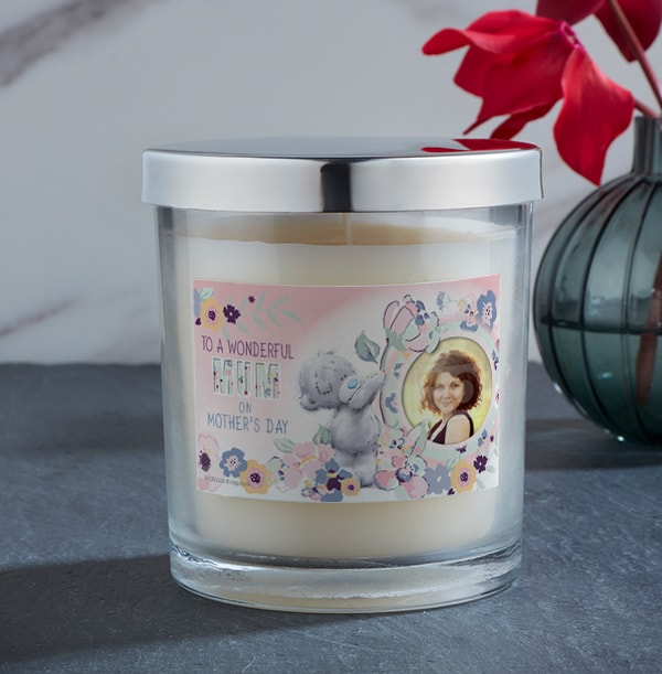 Me To You Mother's Day Pink Photo Candle