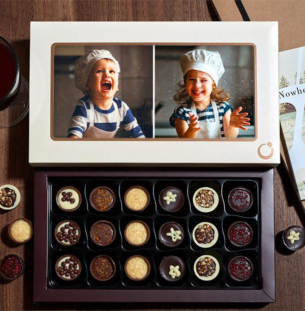 Personalised 2 Photo Chocolates - 18