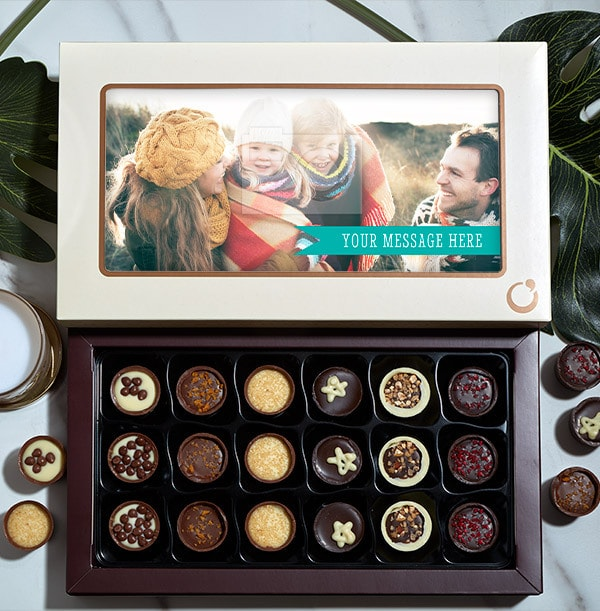Personalised Photo & Message Chocolates - 18