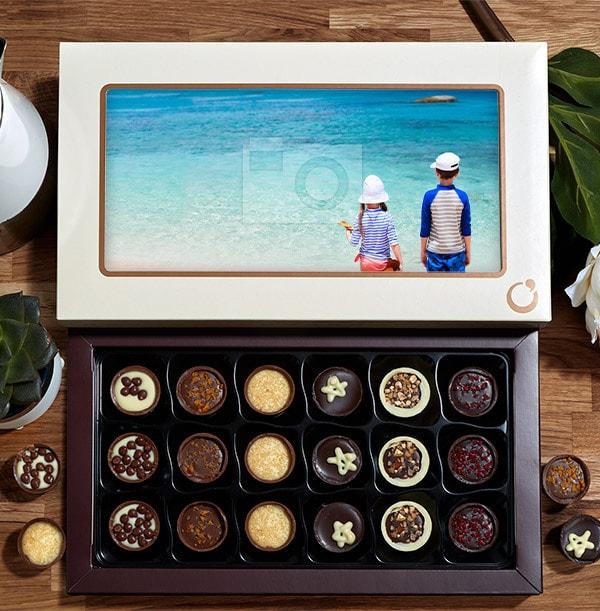 Personalised Photo Chocolates - Box of 18