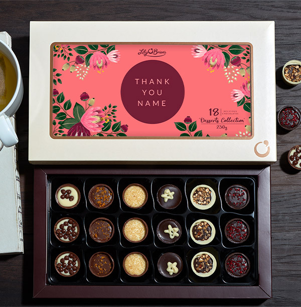 Personalised With Your Message Chocolates - 18