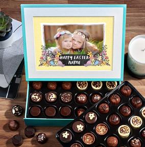 Happy Easter Full Photo Upload Personalised Chocolates - Elite