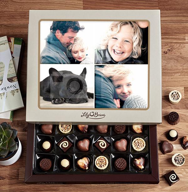 Personalised Multi Photo Chocolates - Box of 30