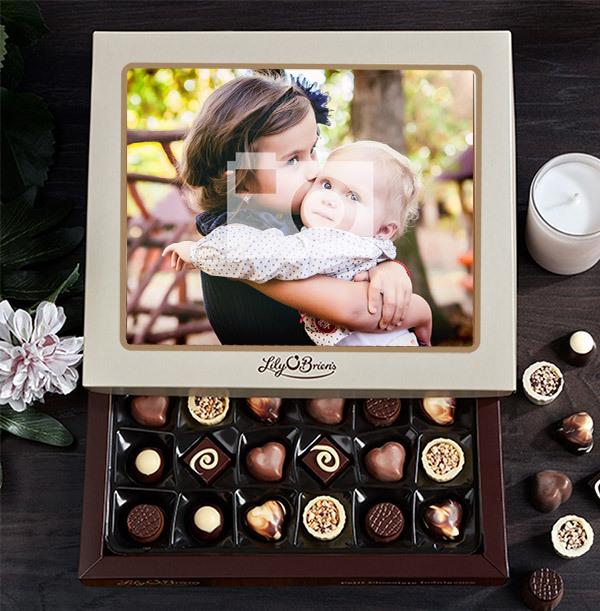 Personalised Photo Chocolates - Box of 30