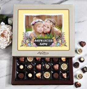 Happy Easter Full Photo Upload Personalised Chocolates