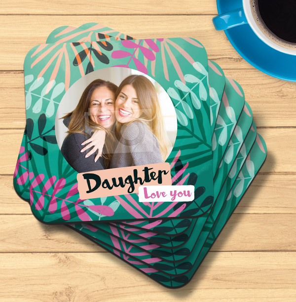 Daughter Photo Coaster
