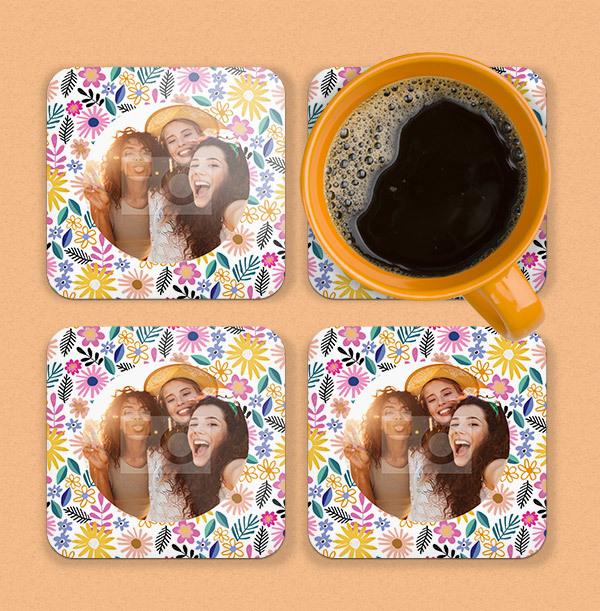 Friend Birthday Photo Coaster
