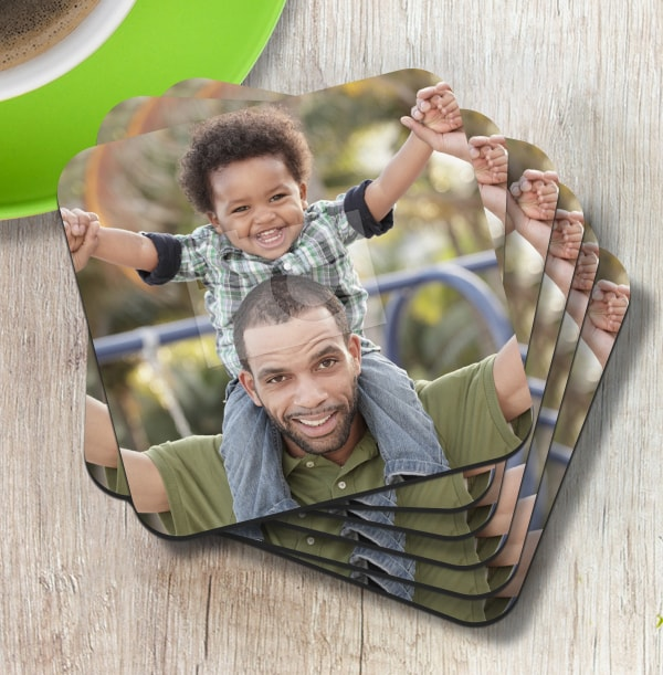 Full Photo Coaster For Dad