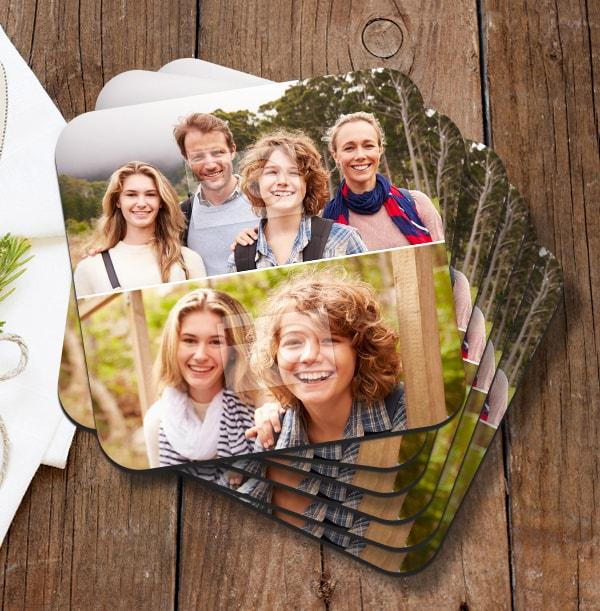 Coaster with 2 Photos