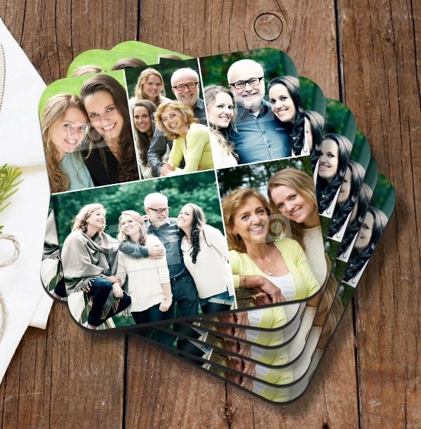 Coaster with 5 Photos
