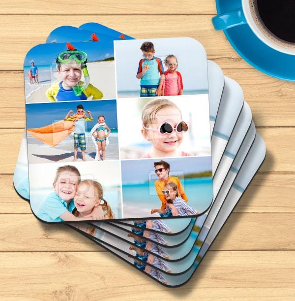 Coaster with 6 Photos