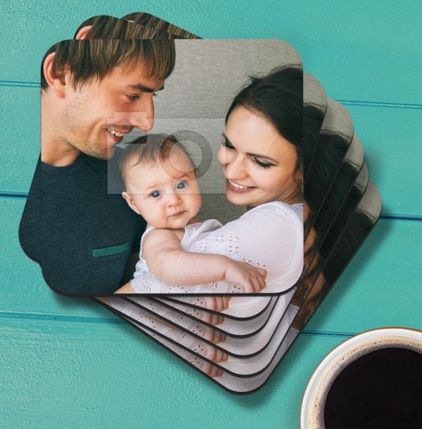 Personalised Full Photo Coaster